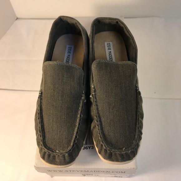 a79a9619c94 Steve Madden Hoist Slip on Loafer Size 7 Grey
